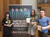 """XII Starptautiskais jauno akordeonistu konkurss """"Ascoltate – 2017"""" Kauņā"""